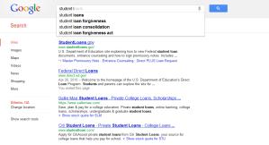 student loans - google
